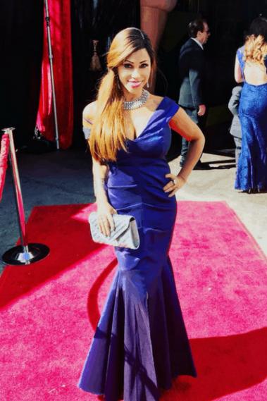 Santana Rodriguez Red Carpet Oscars