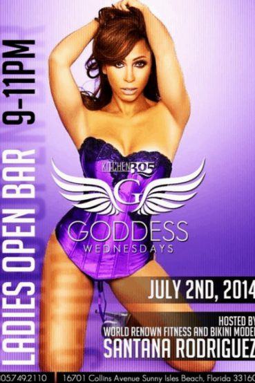 Kitchen 305 Goddess Wednesdays