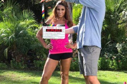 Santana Rodriguez Behind the Scenes