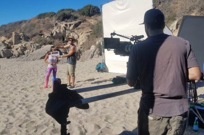 Shaping up with Santana Behind the Scenes
