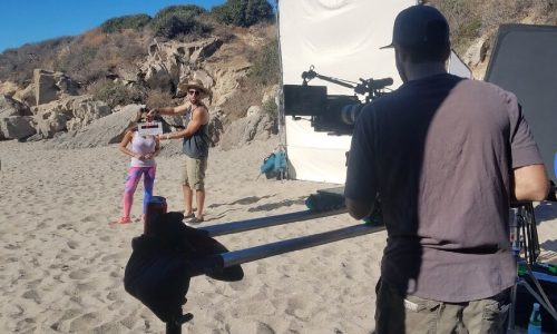 Behind the Scenes Shaping up with Santana