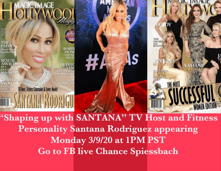 Santana Apperance Facebook Live Chance Spiessbach