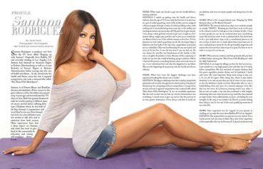 Santana Magazine Feature