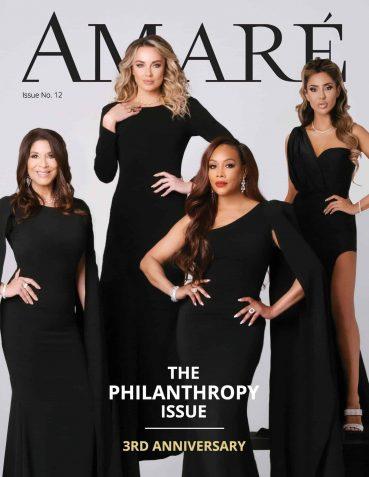 Santana in Amare Magazine Spring 2020